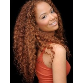 Pleasant Lace Front Remy Human Hair African American Wig
