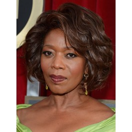 Pretty Lace Front African American Synthetic Wig