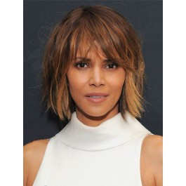 Charming Capless African American Remy Human Hair Wig