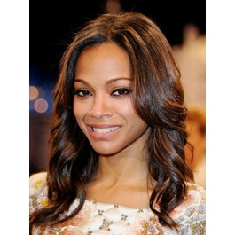 Afriacan American Simple Style Human Hiar Lace Front Wig