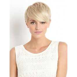 Shimmering Capless Remy Human Hair Wig