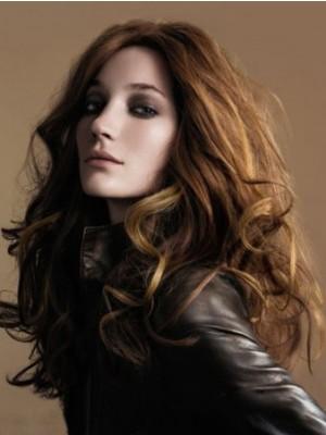 100% Human Hair Wavy Full Lace Wig