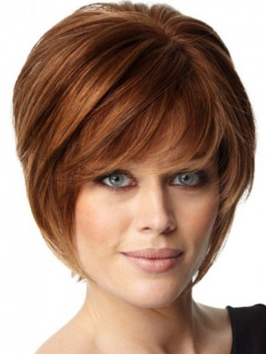 Layers Human Hair Short Capless Wig