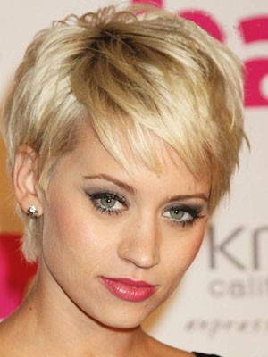 Short Straight Full Lace Remy Human Hair Wig