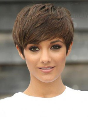 Straight Capless Gorgeous Remy Human Hair Wig