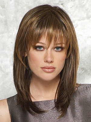 Charming Straight Capless Synthetic Wig