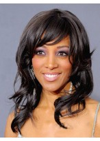 Synthetic Long Wavy Capless Wig