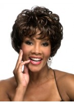 Short Wave Synthetic Wig