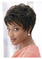 Dramatic Short Cut Synthetic Wig