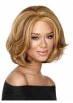 Mid-Length Bob Style Synthetic Wig