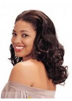 Medium Wavy African American Lace Wig