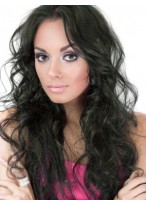 Wavy Long Full Lace Remy Hair Wig