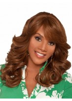 Long Synthetic Body Wave African American Wig