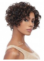 Capless Synthetic Curly Wig