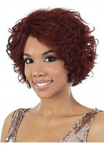 Human Hair Capless Wavy Wig