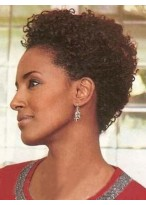 Short Curly 100% Remy Human Hair