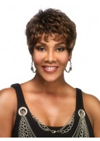 Short Wavy Lace Front Wig