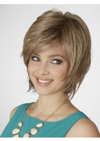 Lace Front Layered Synthetic Bob Wig