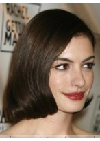 Anne Hathaway Good Straight Lace Front Synthetic Wig