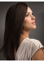 Long Straight Capless Remy Hair Wig