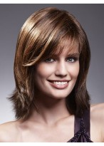 Textured Layers Remy Hair Lace Front Wig