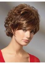 Short Wavy Cut Remy Human Hair Wig