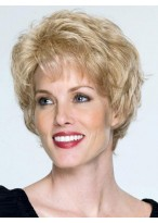Short Waves Capless Remy Hair Wig