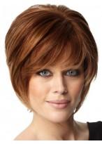 Layers Human Hair Short Capless Wig