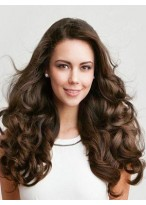 Long Wavy Human Hair Full Lace Wig