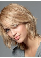 Well-favored Human Hair Straight Lace Front Wig