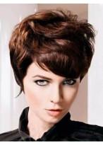 Beautiful Wavy Remy Human Hair Capless Wig