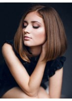 Lace Front Straight Lovely Remy Human Hair Wig