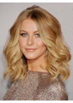 Medium Length Lace Front Human Hair Wig