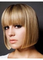 Smart Straight Human Hair Capless Wig