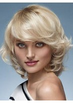 Beautiful Remy Human Hair Wavy Capless Wig