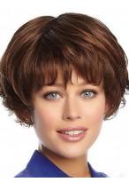 Aesthetic Wavy Capless Human Hair Wig
