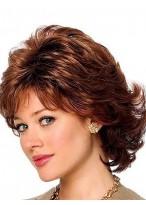 Human Hair Aesthetic Wavy Capless Wig