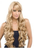 Full Lace Water Wavy Remy Human Hair Wig