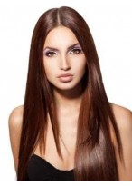Lovely Straight Lace Front Synthetic Wig