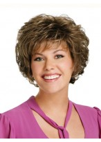Capless Womens Synthetic Wig