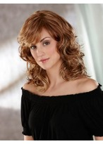 Roller Set Curls Medium Synthetic Wig