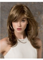 Cheap Long Wavy Monofilament Blonde Wig