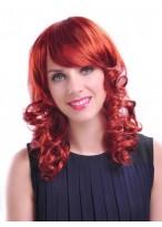 Medium Wavy Synthetic Capless Wig