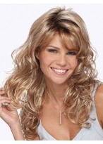 Long Synthetic Hair Capless Wig
