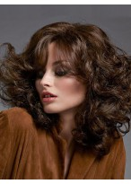 Capless Deep Wave Synthetic Wig