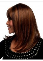 Capless Synthetic Hair Straight Womens Wig