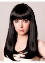 Synthetic Charming Straight Capless Wig