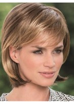 Synthetic Hair Chic Straight Capless Wig