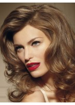 Splendid Wavy Lace Front Synthetic Wig