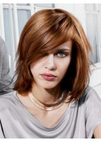 Glamorous Straight Capless Synthetic Wig